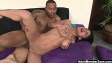 AdultMemberZone – Middle Eastern slut spreads for her first black cock